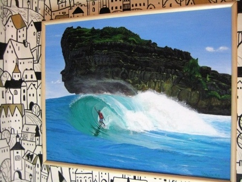 """Surfing Java, Indonesia"""